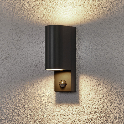 Lámpara de pared exterior con sensor Palina