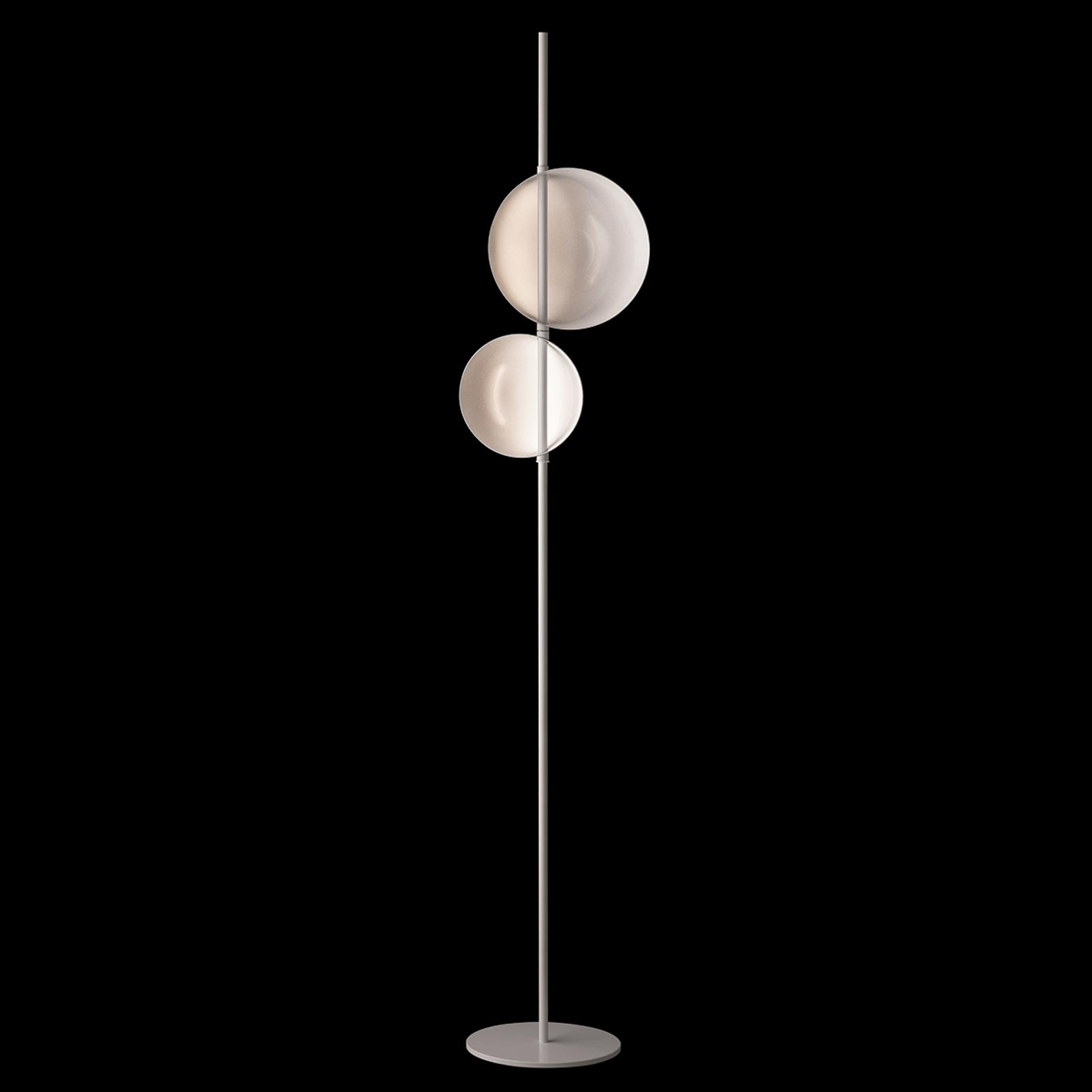 Oluce Superluna - design vloerlamp met LEDs