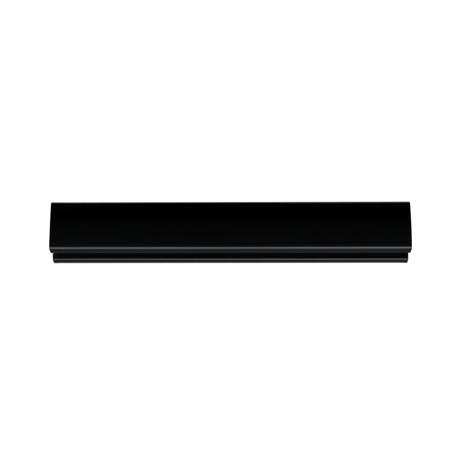 Paulmann URail systemskinne, svart matt, 10 cm