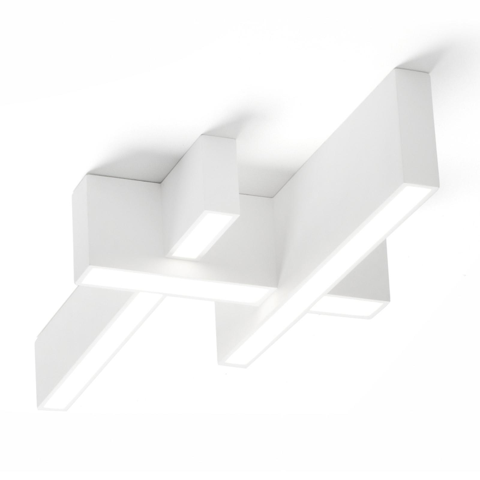 Plafonnier LED Magnesia T275 avec 3 poutres