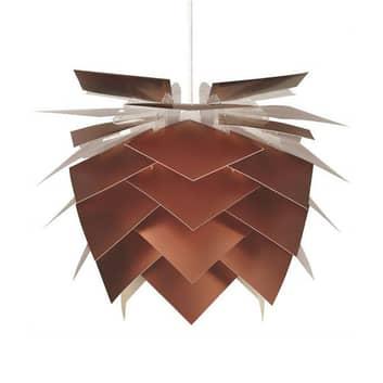 Dyberg Larsen Pineapple M Copper look hangl. Ø45cm