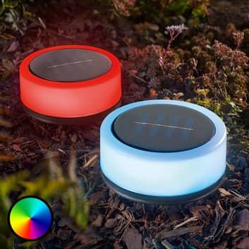 Sfeerlamp op zonne-energie Smart Puc set van 2