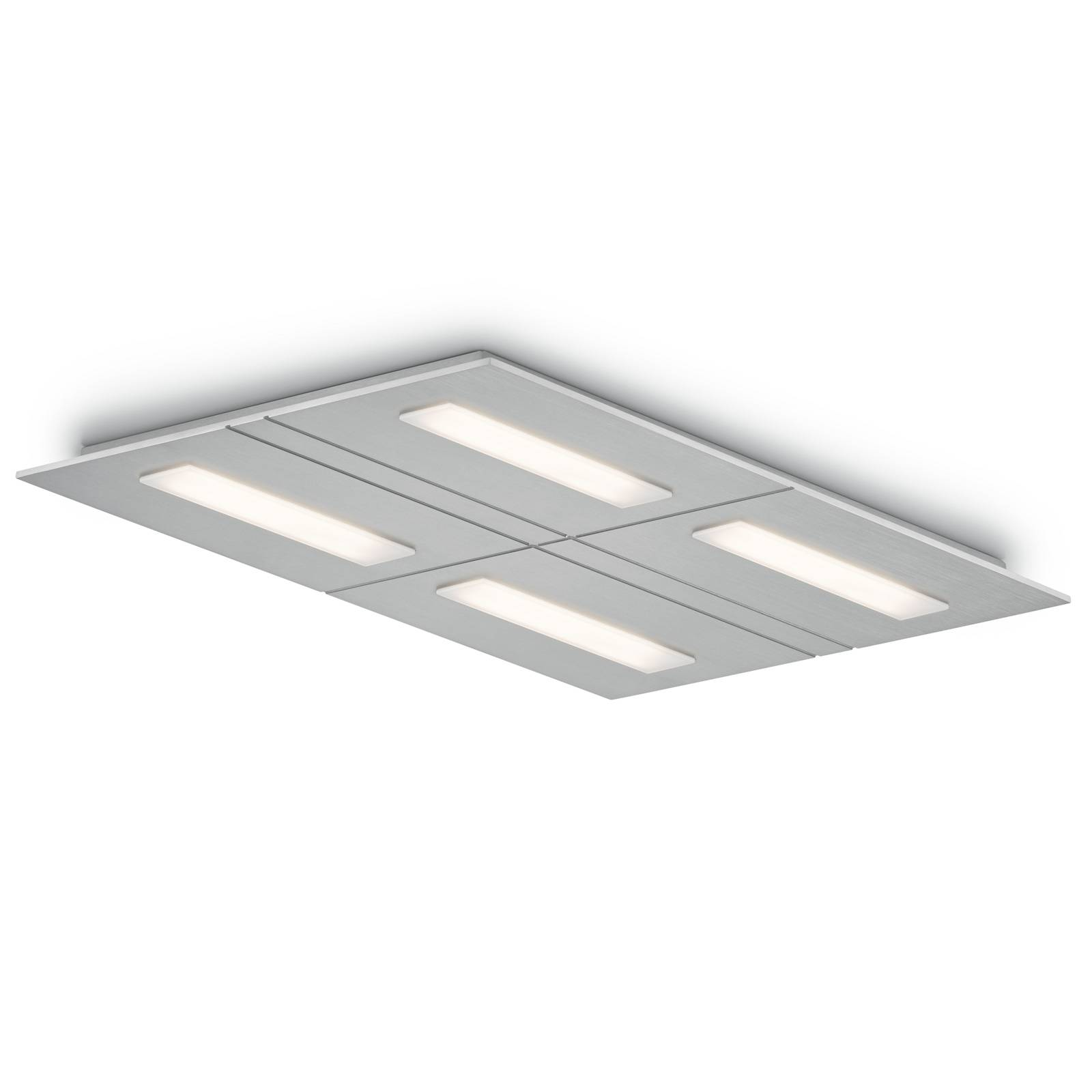LED-Deckenleuchte Sina-4, dim-to-warm, vierflammig