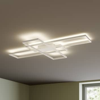 Lindby Tomke lampa sufitowa LED biała, ściemniana