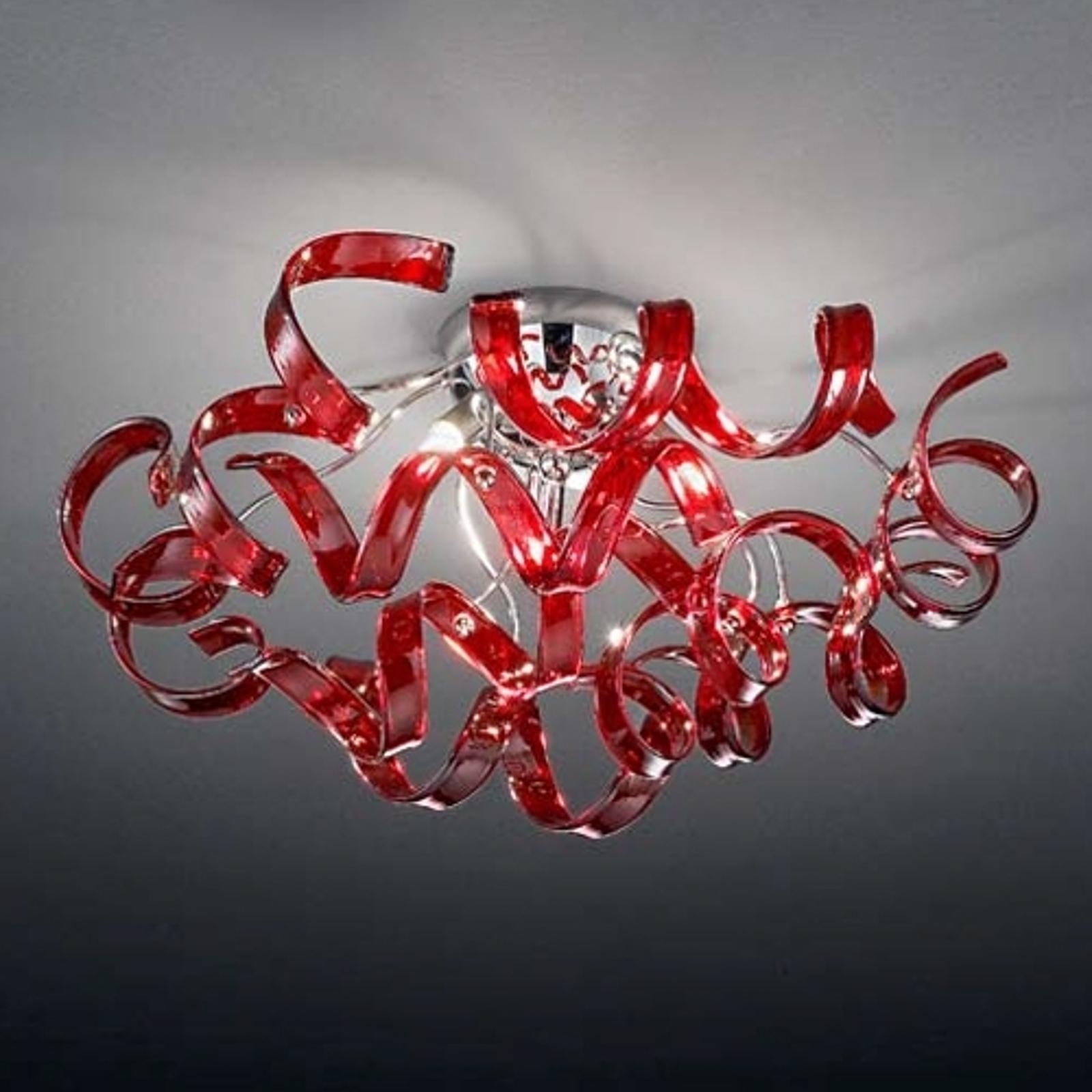 Leuke plafondlamp Cherry, diameter 50 cm