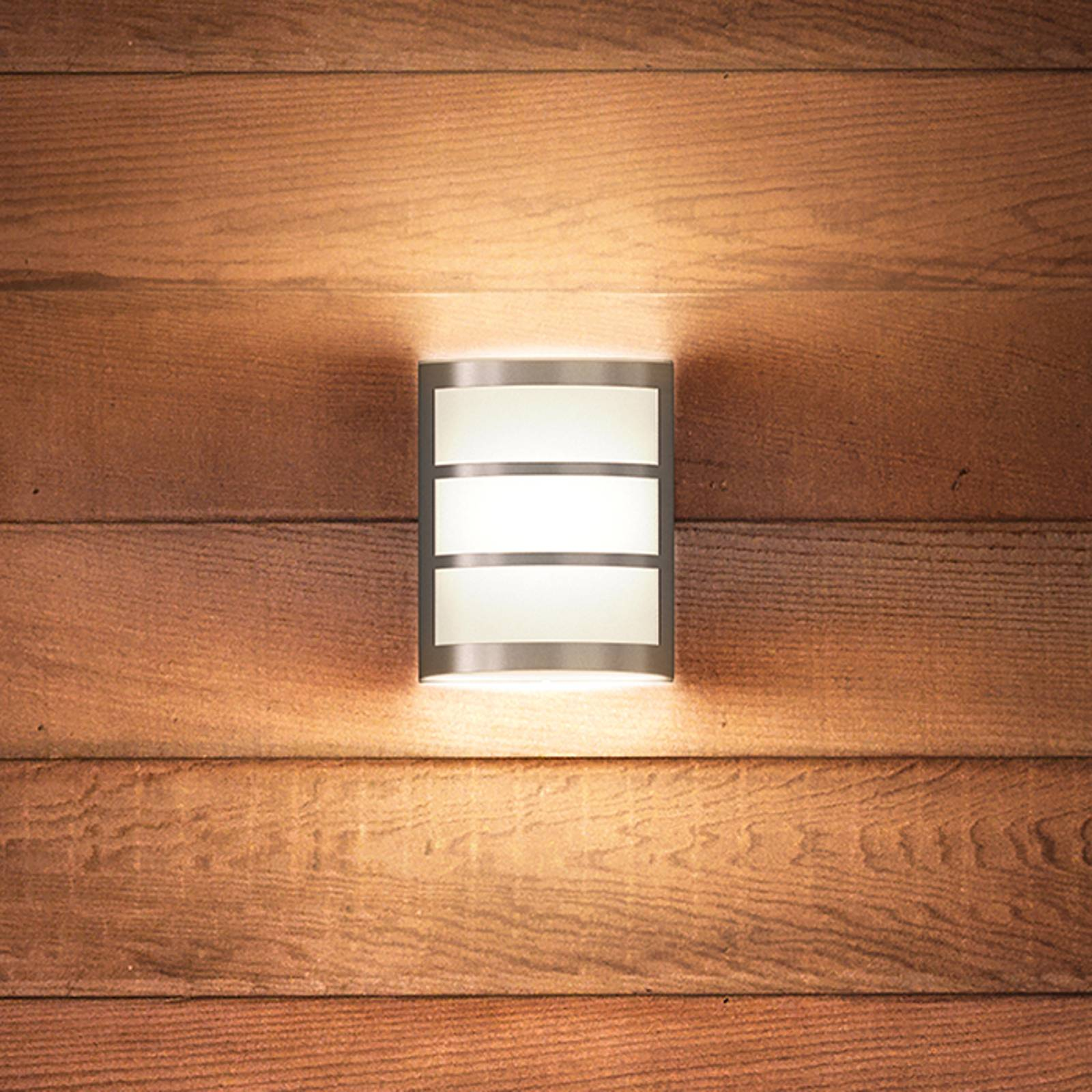 Trendy LED outdoor wandlamp Python