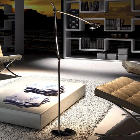 Moderni LED-lattiavalaisin Perceval