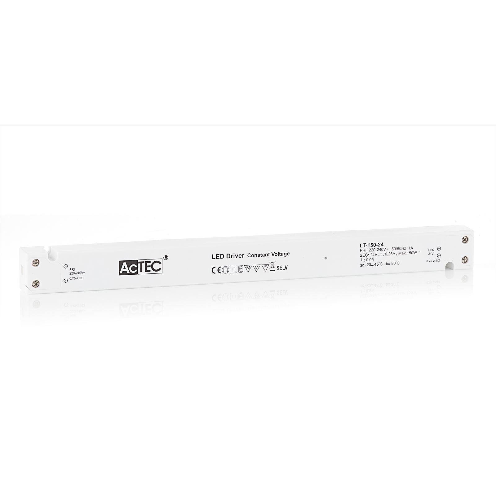 AcTEC LT LED-driver CV 24 V, 150 W