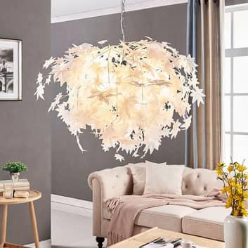 Grote hanglamp Maple met bladmotief