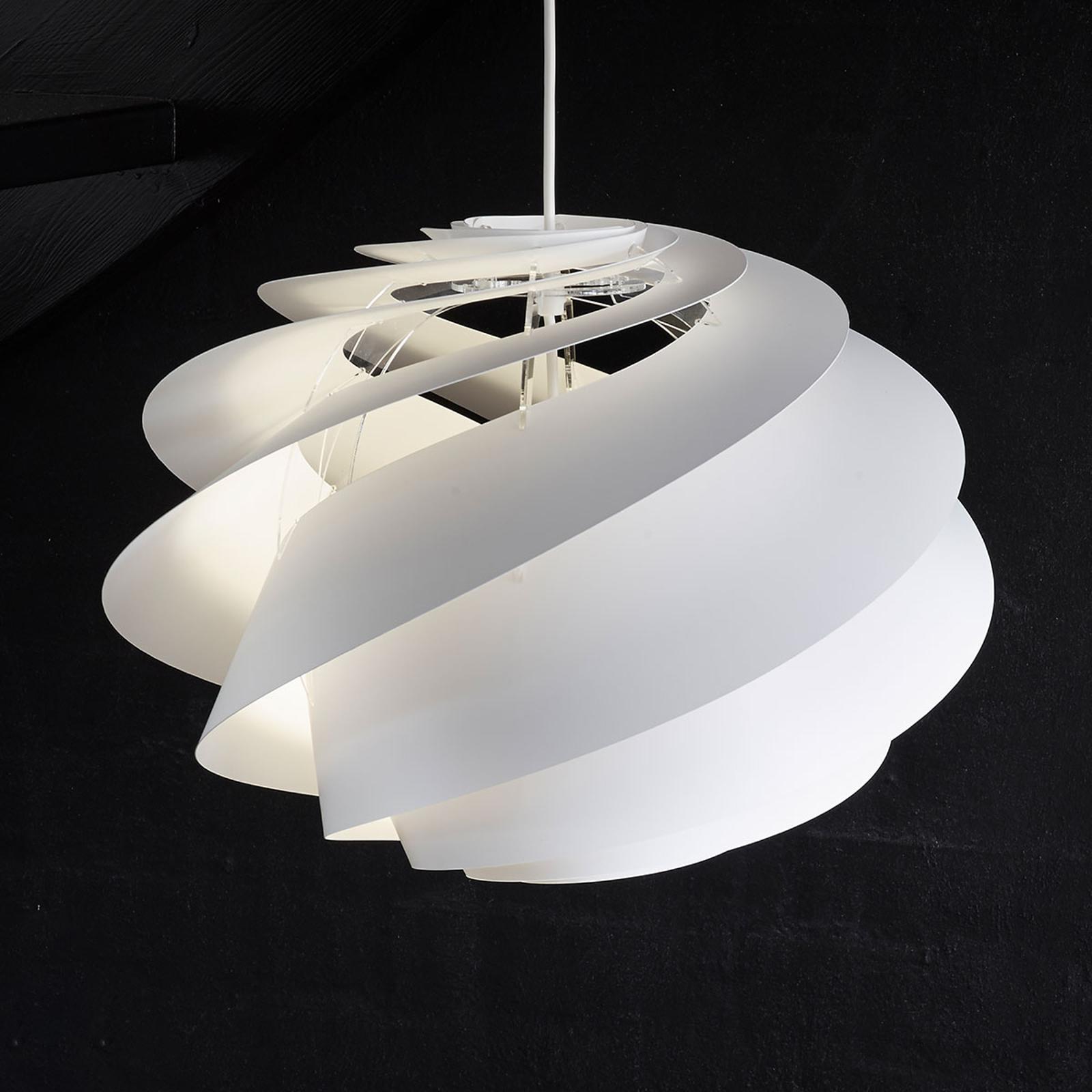 LE KLINT Swirl 1 - weiße Designer-Pendelleuchte