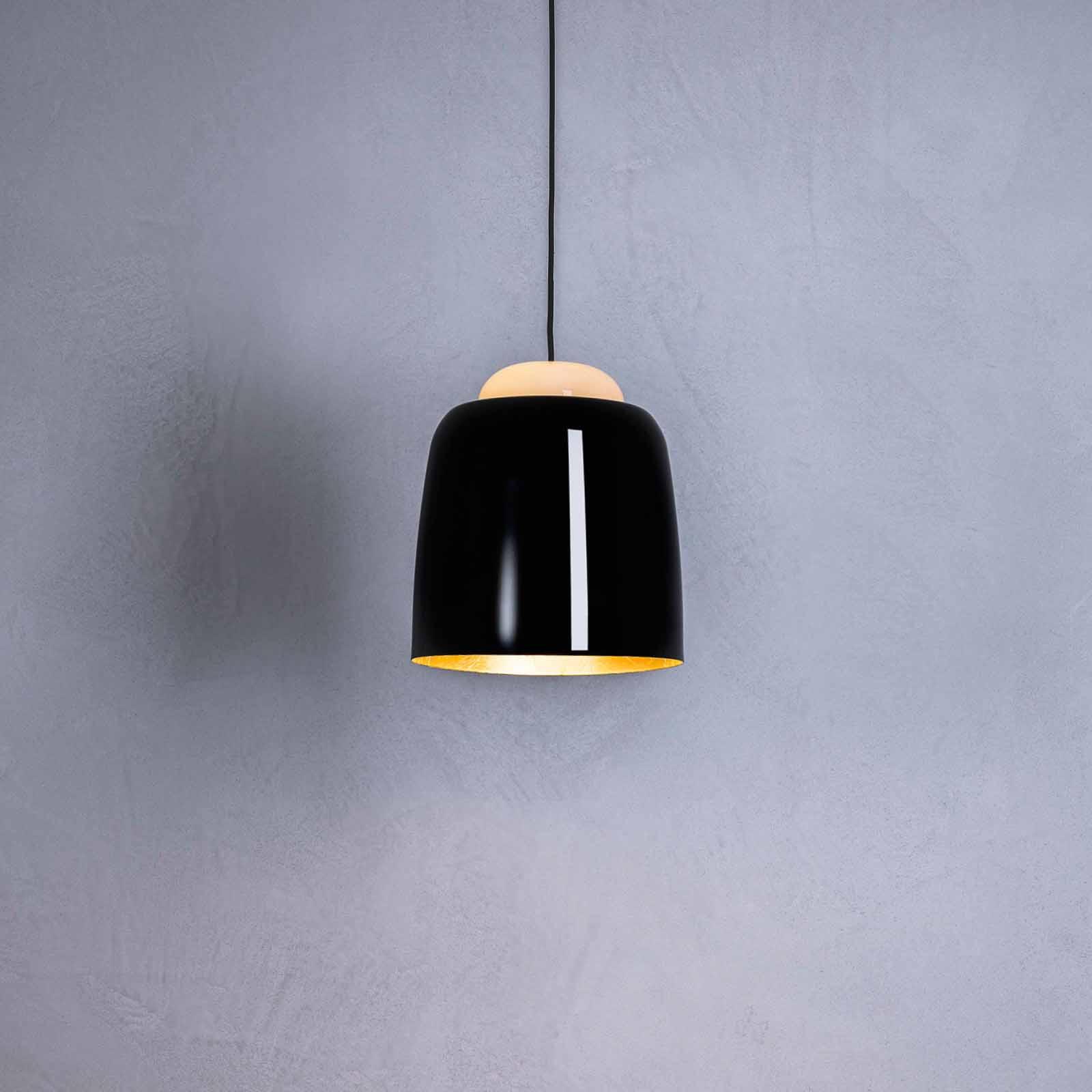 Prandina Teodora S3 Kabel schwarz/schwarz glänzend