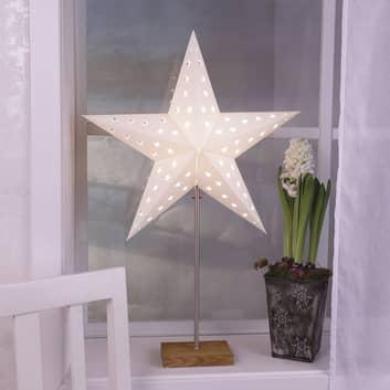 Lampa dekoracyjna Combi Pack - gwiazda i klosz
