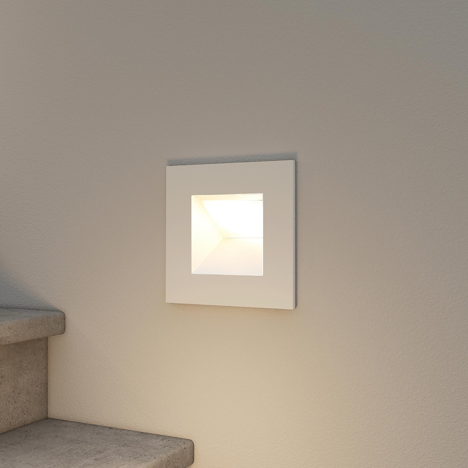 Arcchio Zamo LED-innfellingslampe, hvit