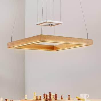 HerzBlut Leonora LED-Hängelampe KlickDim, 50x50cm