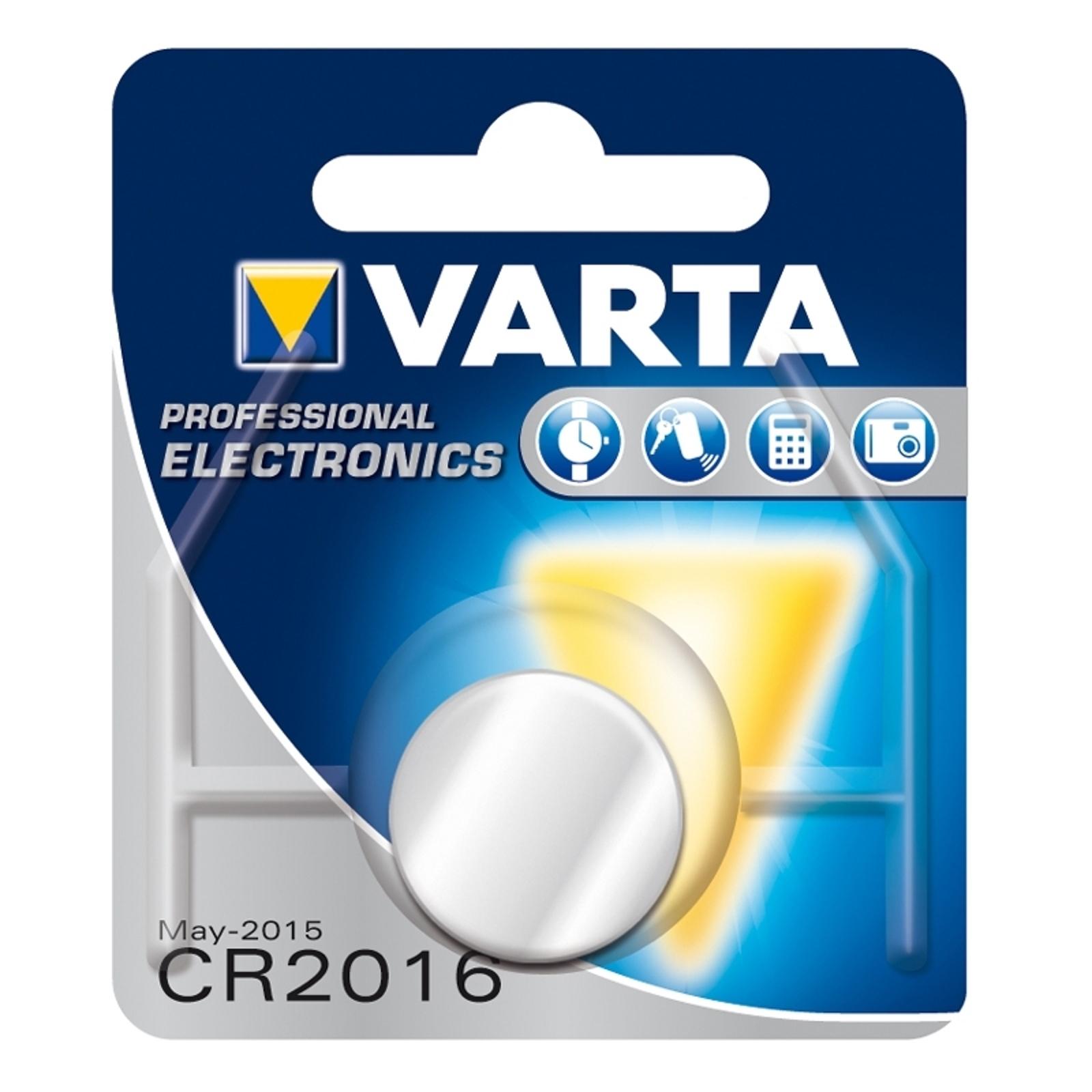 Mała bateria Lithium CR2016 3V VARTA
