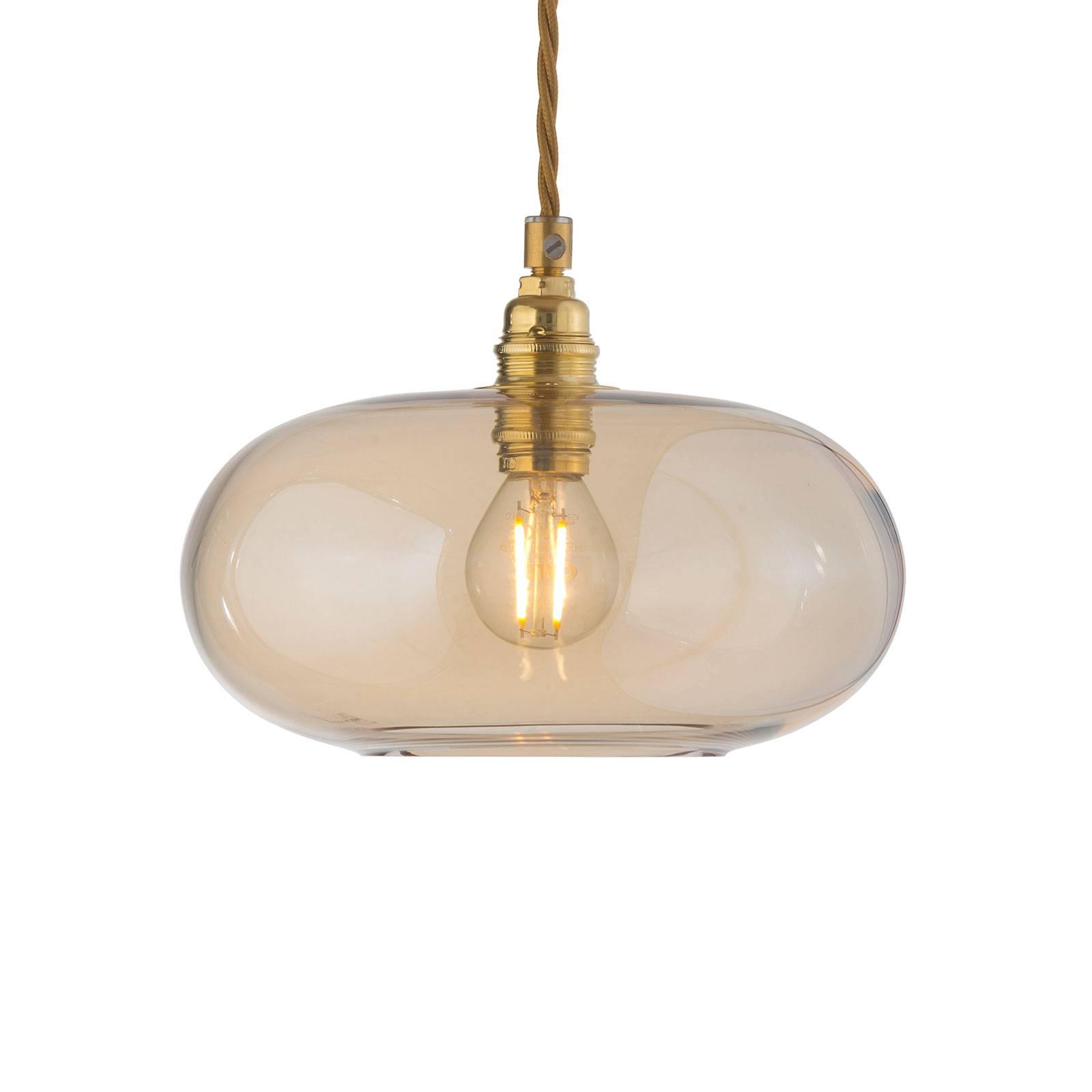 EBB & FLOW Horizon hanglamp goud rook Ø 21cm
