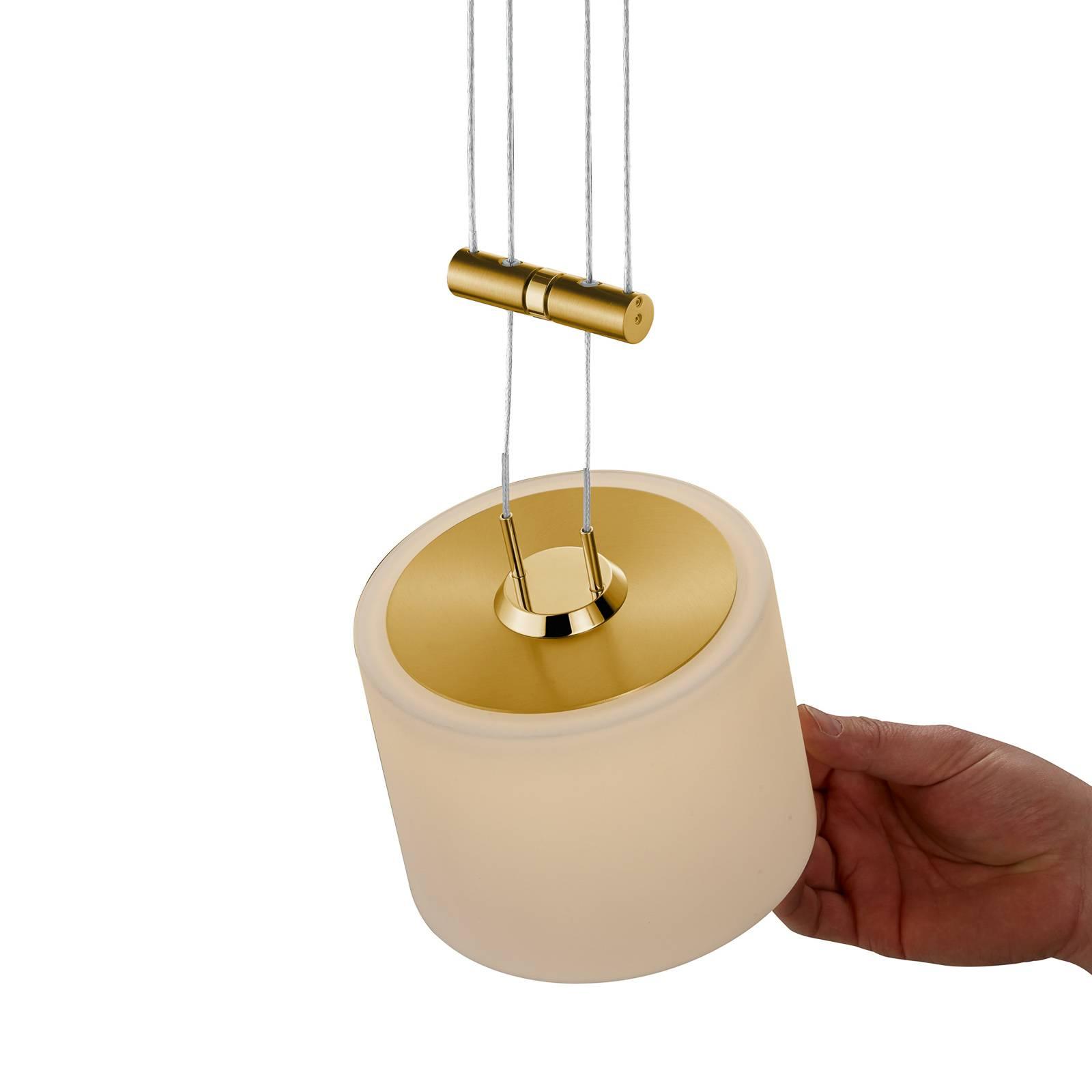 BANKAMP Grazia suspension ZigBee 1l 16cm laiton