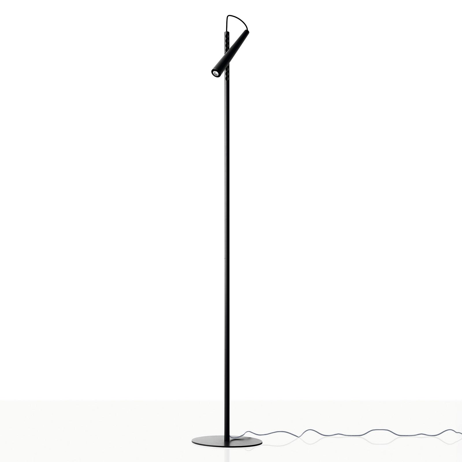 Foscarini Magneto LED-gulvlampe, svart