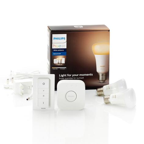 Philips Hue White Ambiance E27 2er Starter-Kit