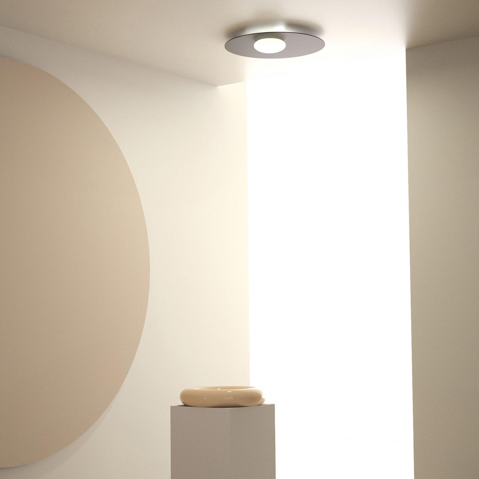 Axolight Kwic lampa sufitowa LED, czarna Ø48cm