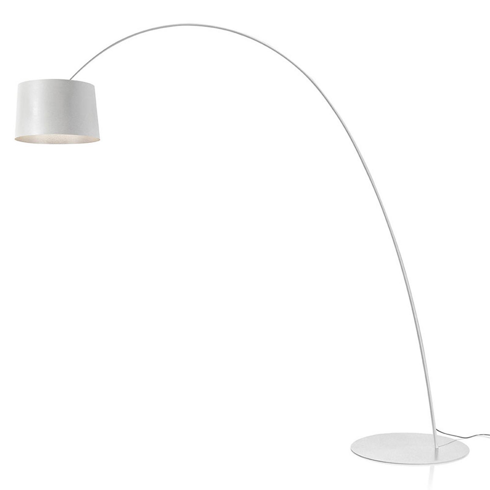Foscarini Twiggy MyLight LED-gulvlampe CCT hvit