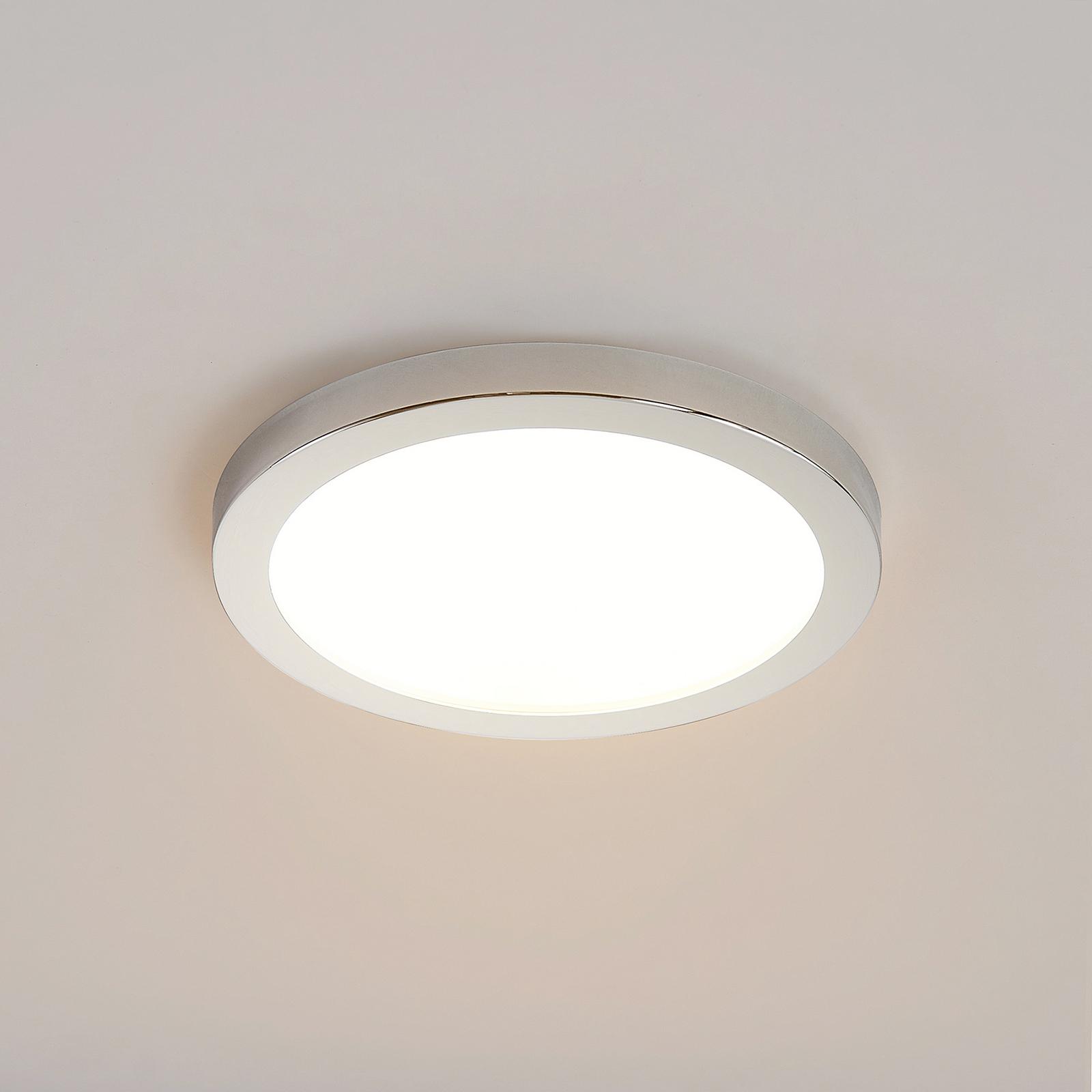 Lindby Skrolla LED-Einbaulampe, IP44, 1 Stück