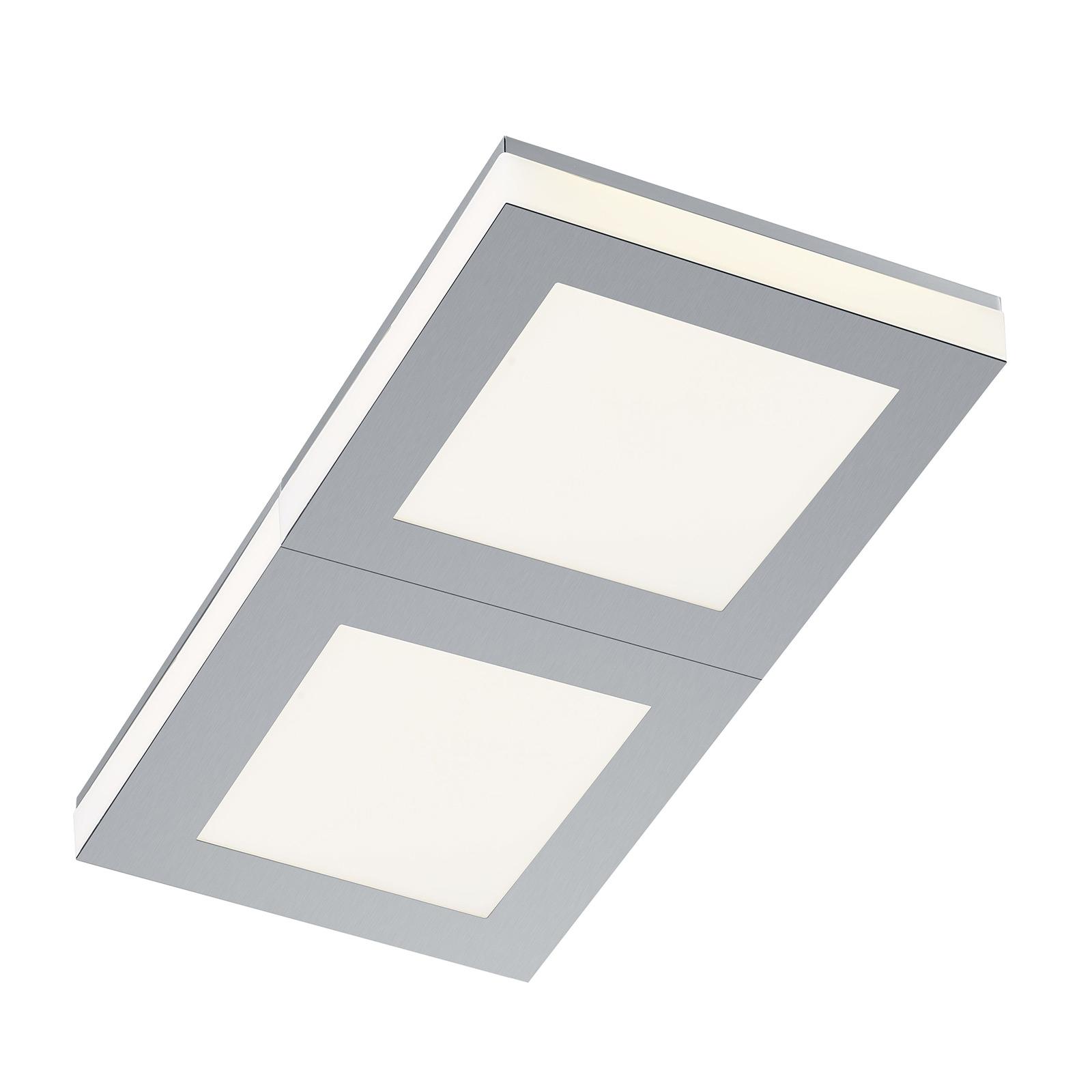 B-Leuchten Quadro LED-taklampe 42x22cm
