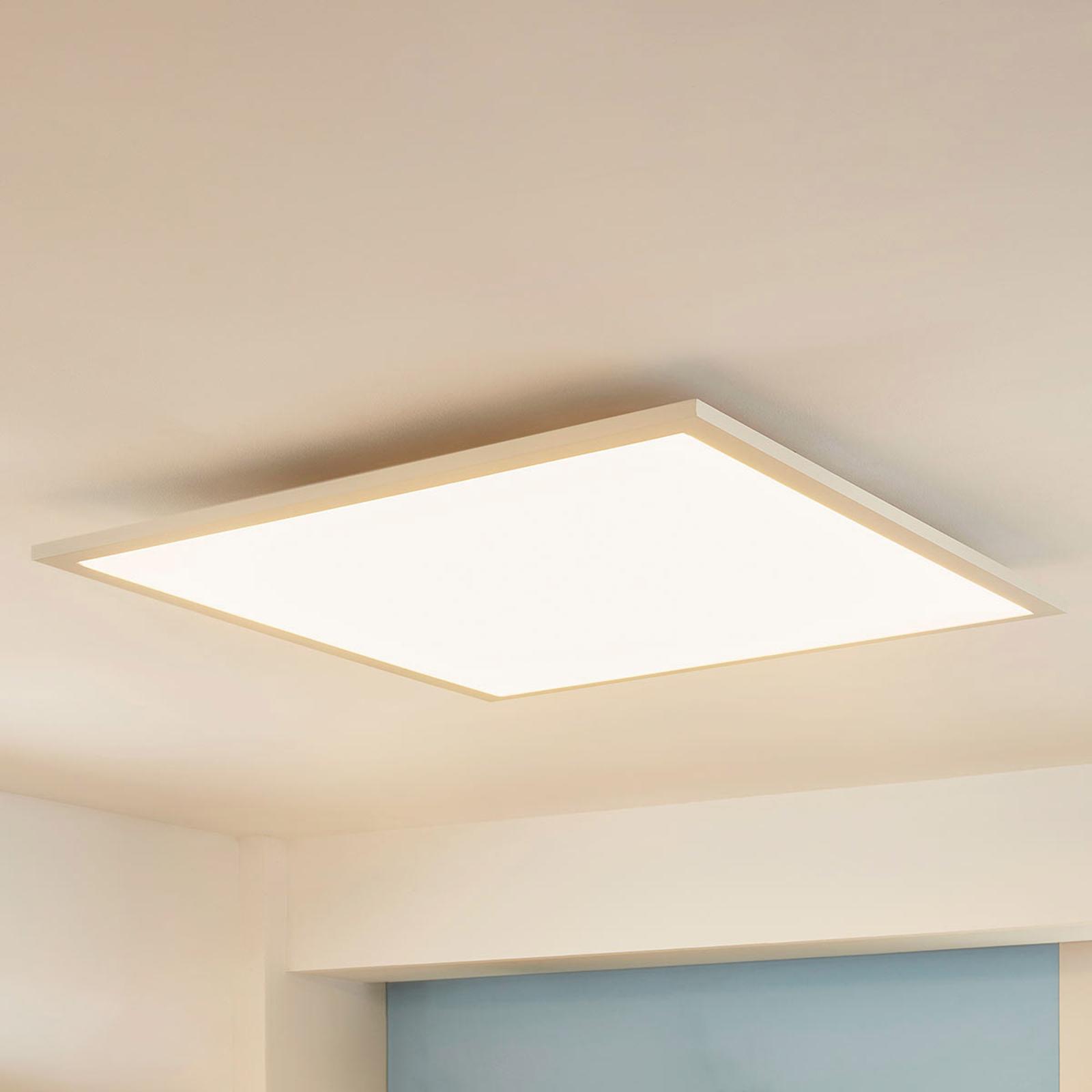 Quadratisches LED-Panel Enja, 62 x 62 cm