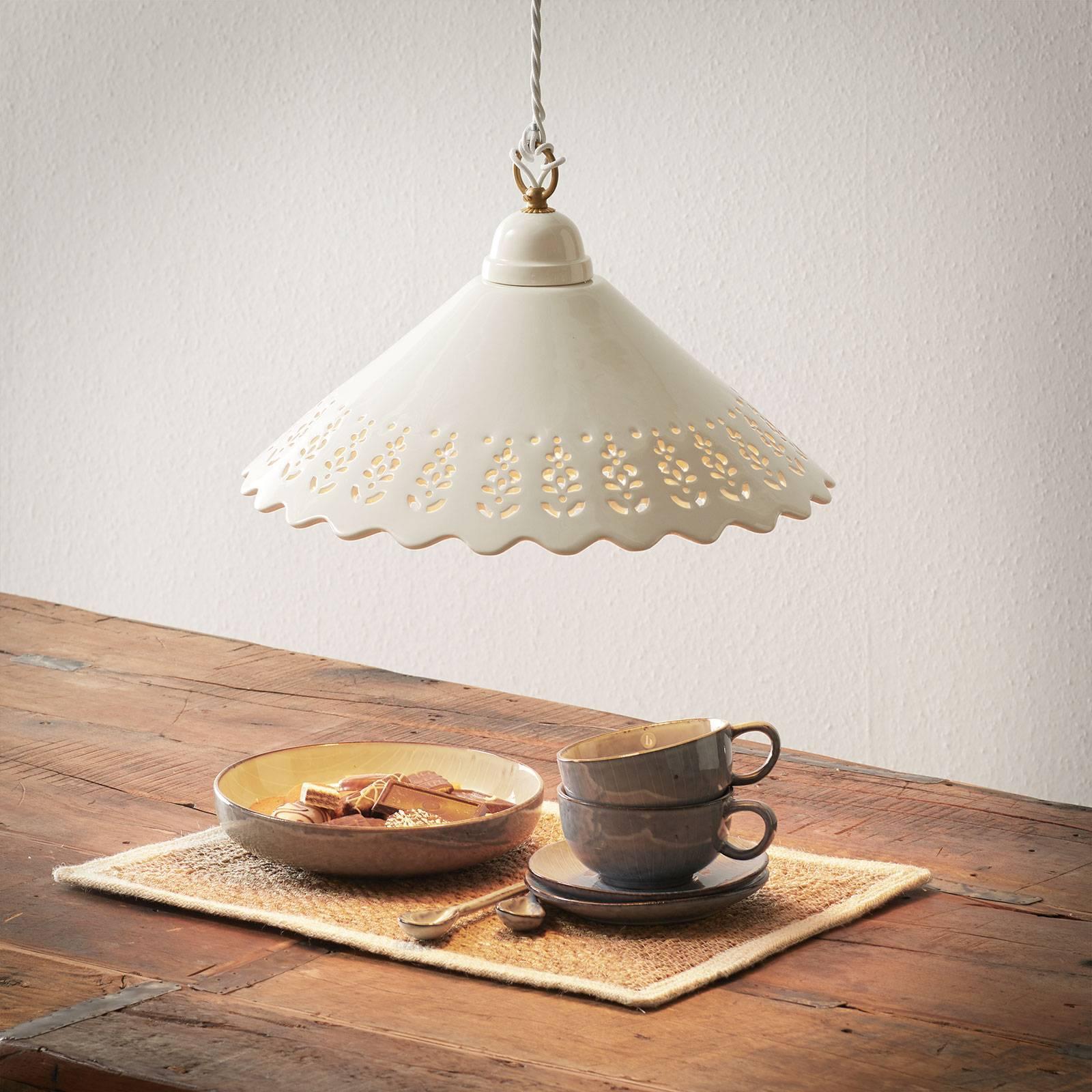 Lampa wisząca Pizzo, 1-punktowa, 40 cm