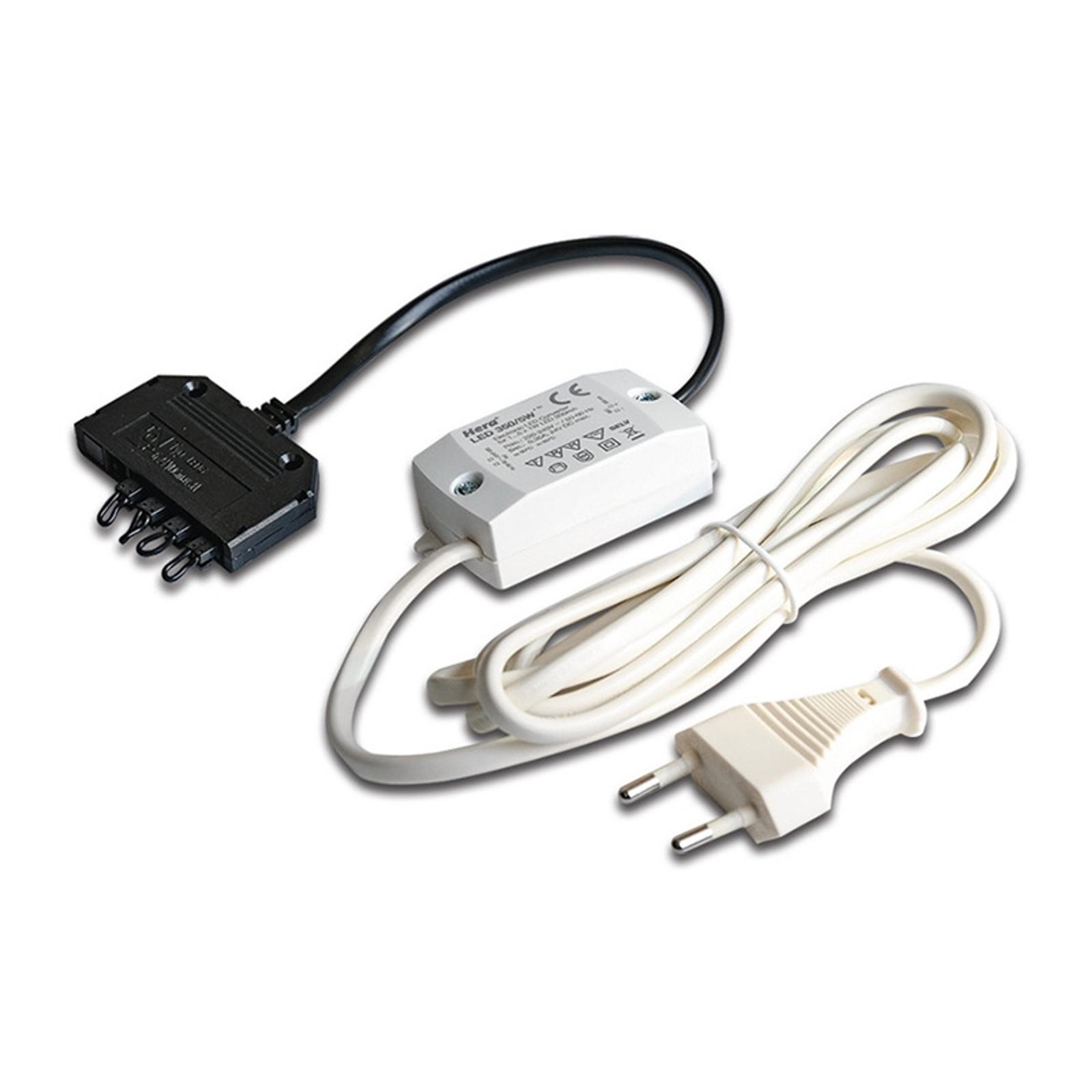 Trafo LED 350mA/5W mit 5fach-Verteiler
