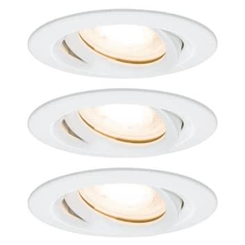 Paulmann Nova LED- Einbauspot, dimmbar, IP65
