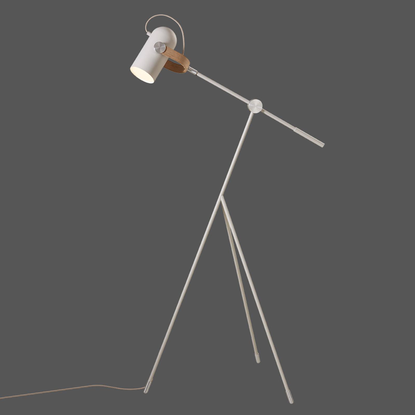 LE KLINT Carronade Low - sandfarvet standerlampe