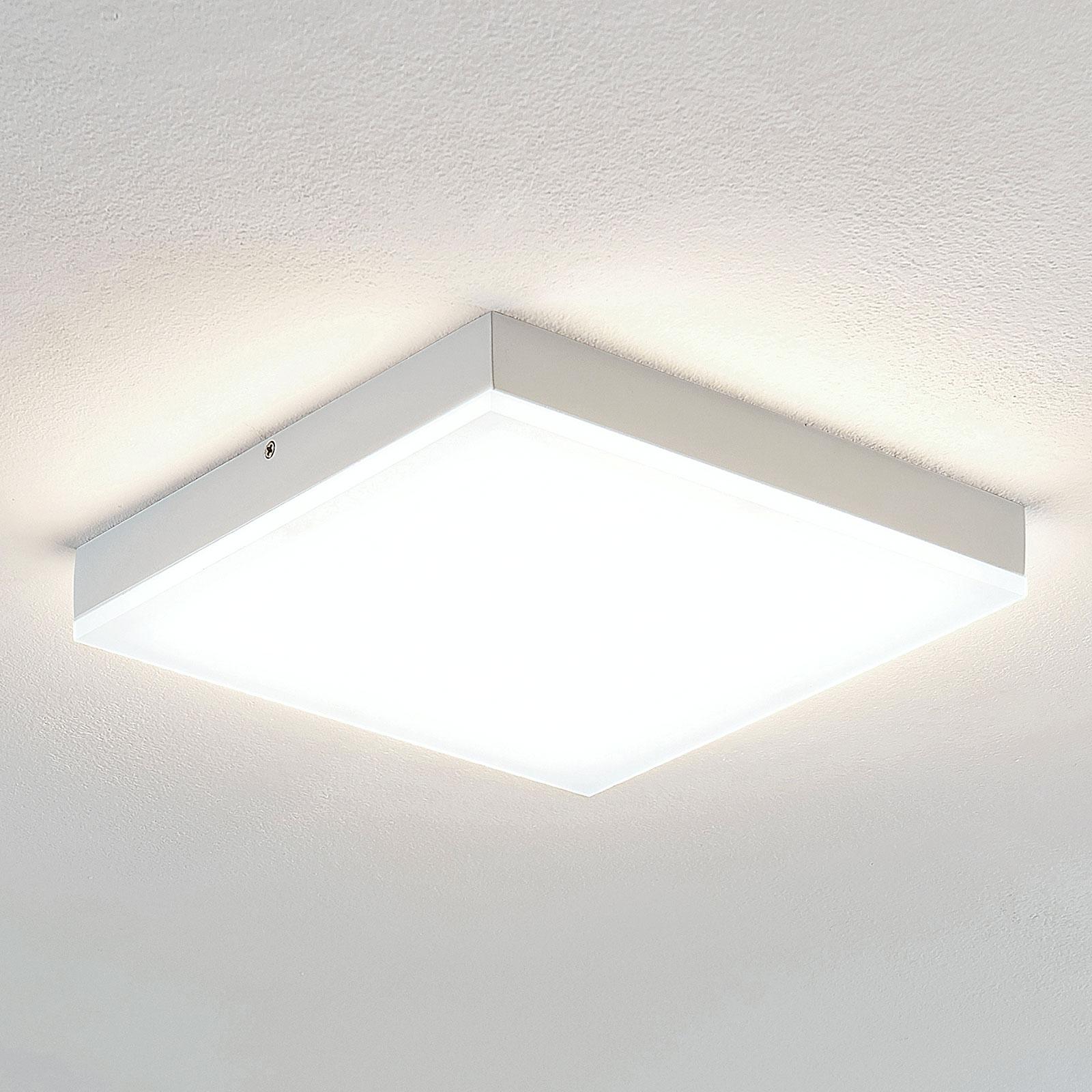 Lindby Tamito plafoniera LED bianca, 25 cm