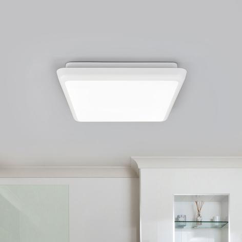 Vierkante LED plafondlamp Augustin, 25 cm