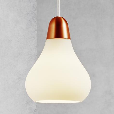 Glazen hanglamp Bloom, 16 cm
