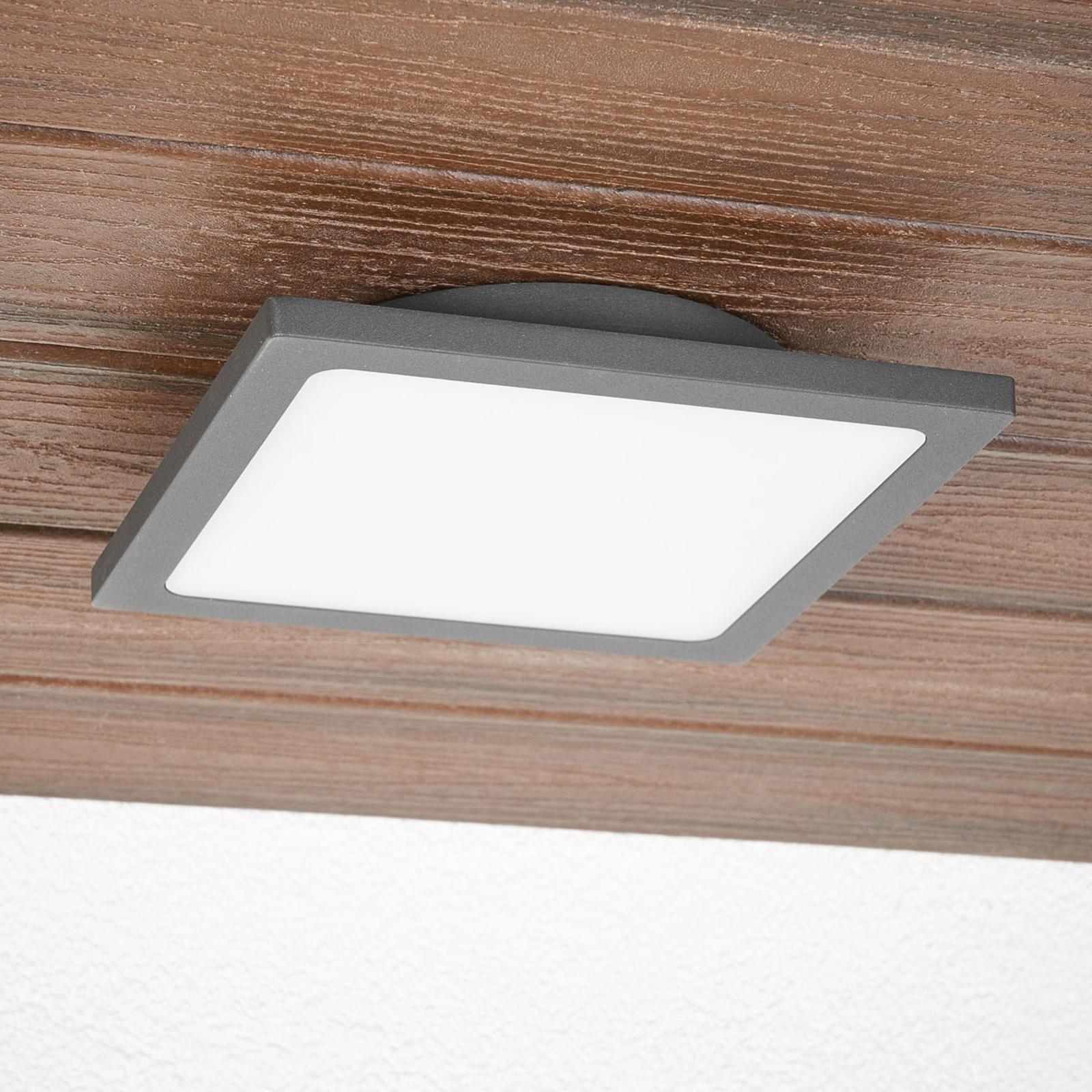 Mabella plafoniera per l'esterno LED con sensore