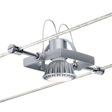 Paulmann Mac II foco iluminación cable cromo mate