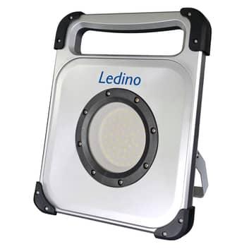 LED-Akkustrahler Veddel 50 W + 3W Zusatzleuchte