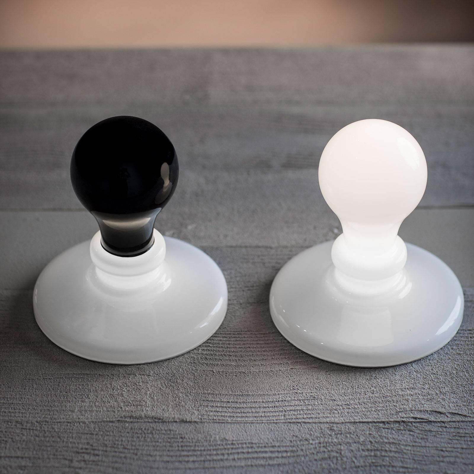 Foscarini White + Black Light LED-Tischleuchte 2er