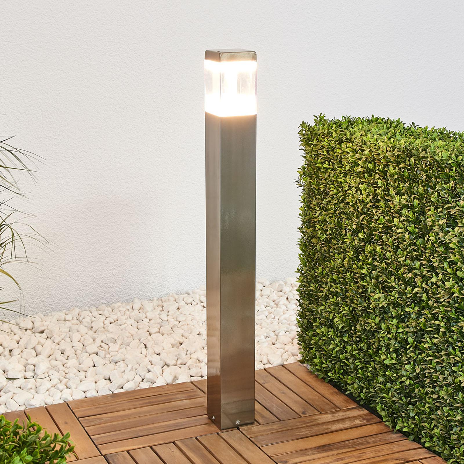 Baily - veilampe av rustfritt stål med LED-lys