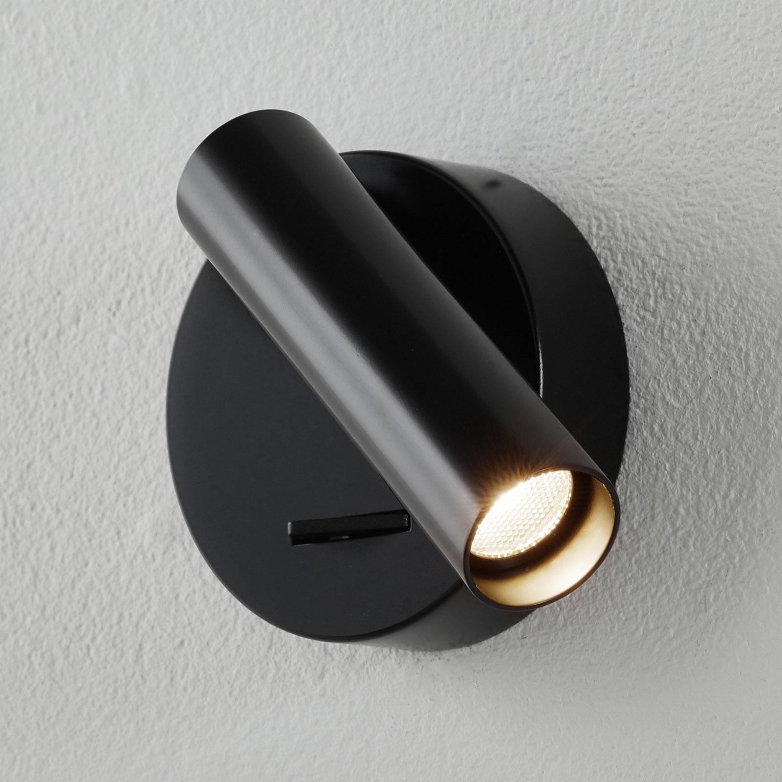Arcchio Liani reflektor ścienny LED, czarny