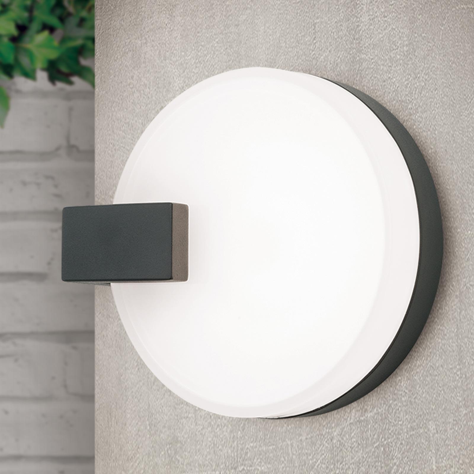 Utendørs LED-vegglampe Astra av silumintrykk