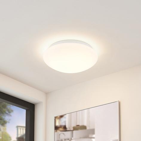 Arcchio Marlie -LED-kattovalo, IP44, lasia, pyöreä