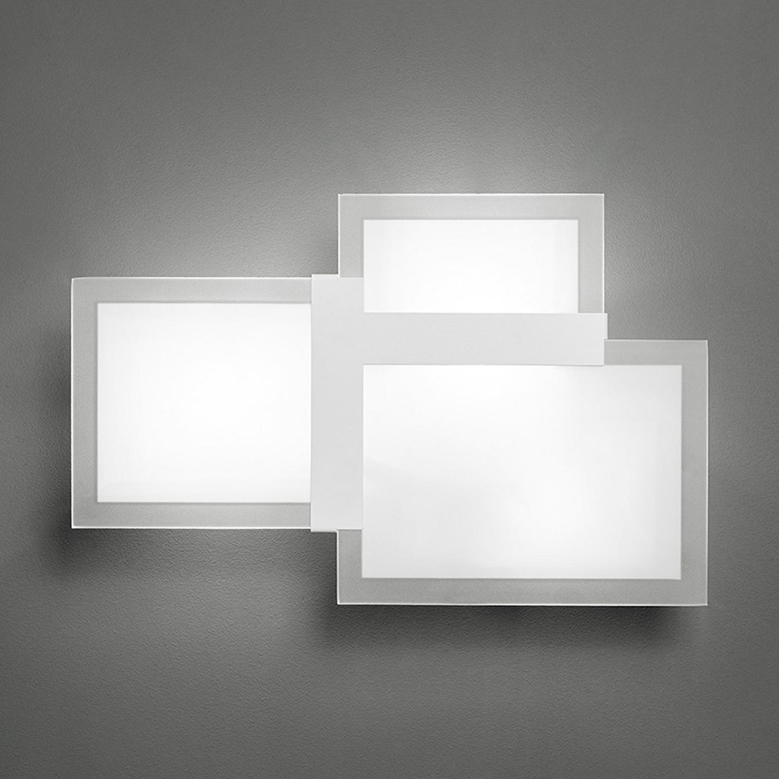 Triquadro piccola - een Designer wandlamp