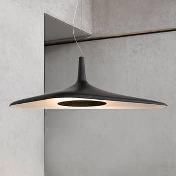 Suspension LED futuriste Soleil Noir