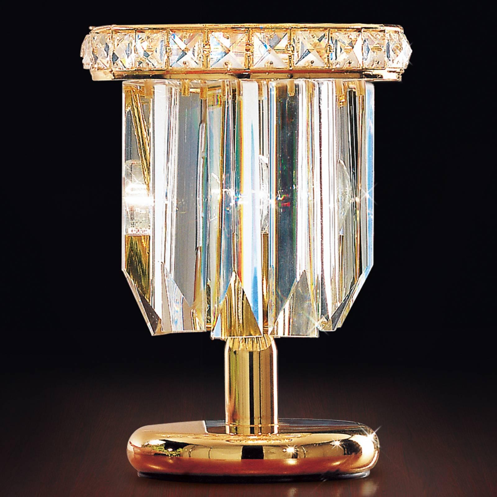 Tischleuchte Cristalli 24 Karat in Gold