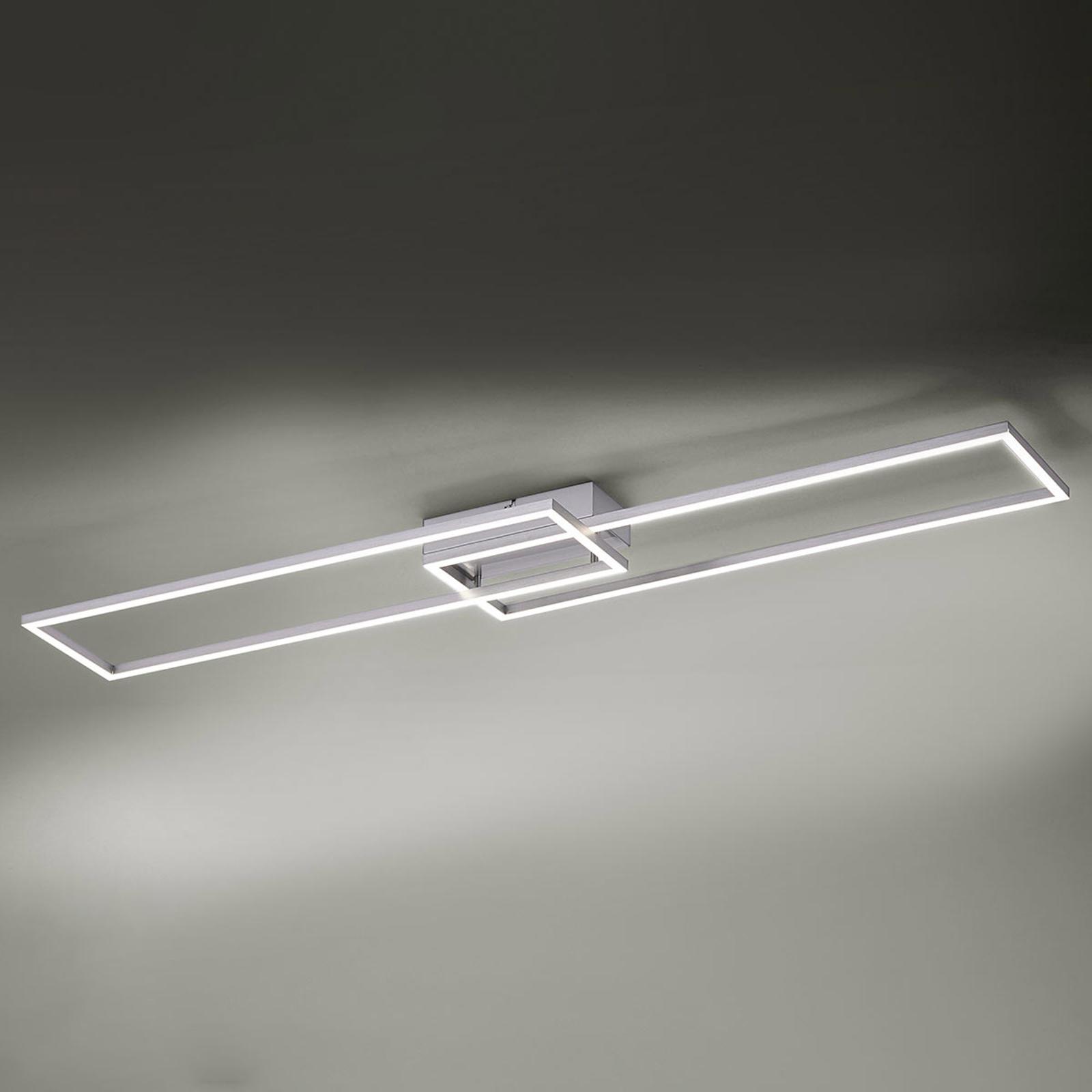 Plafonnier LED Iven avec télécommande 110cm