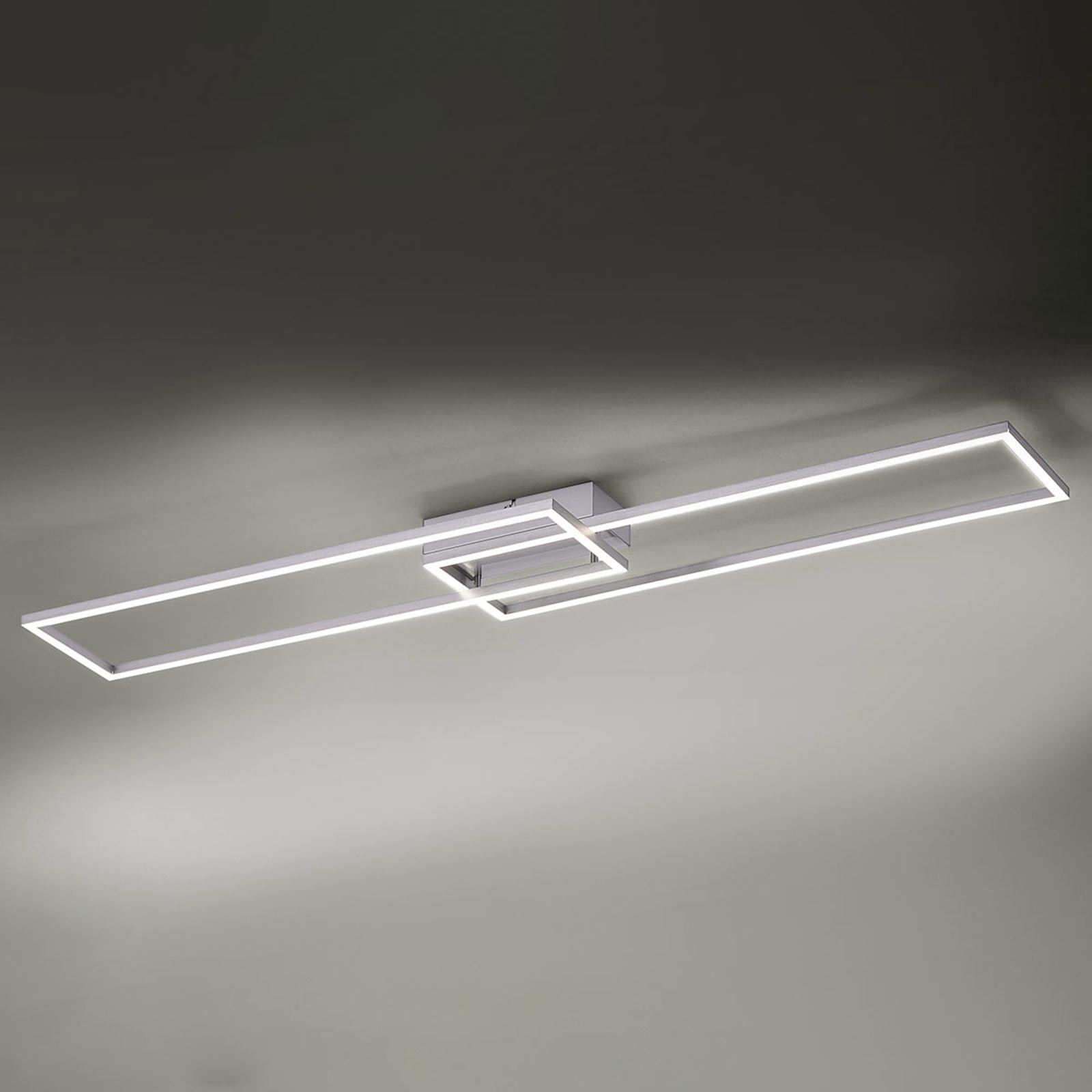 Lampa sufitowa LED Iven z pilotem 110 cm