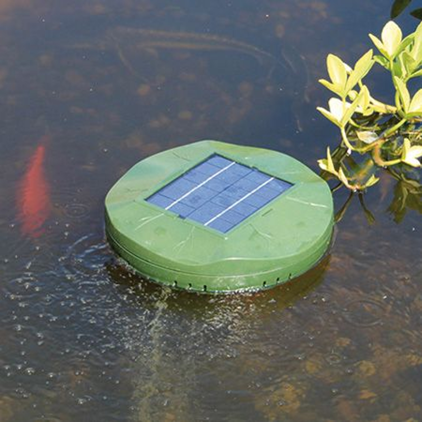 Soldriven dammluftare Floating Air