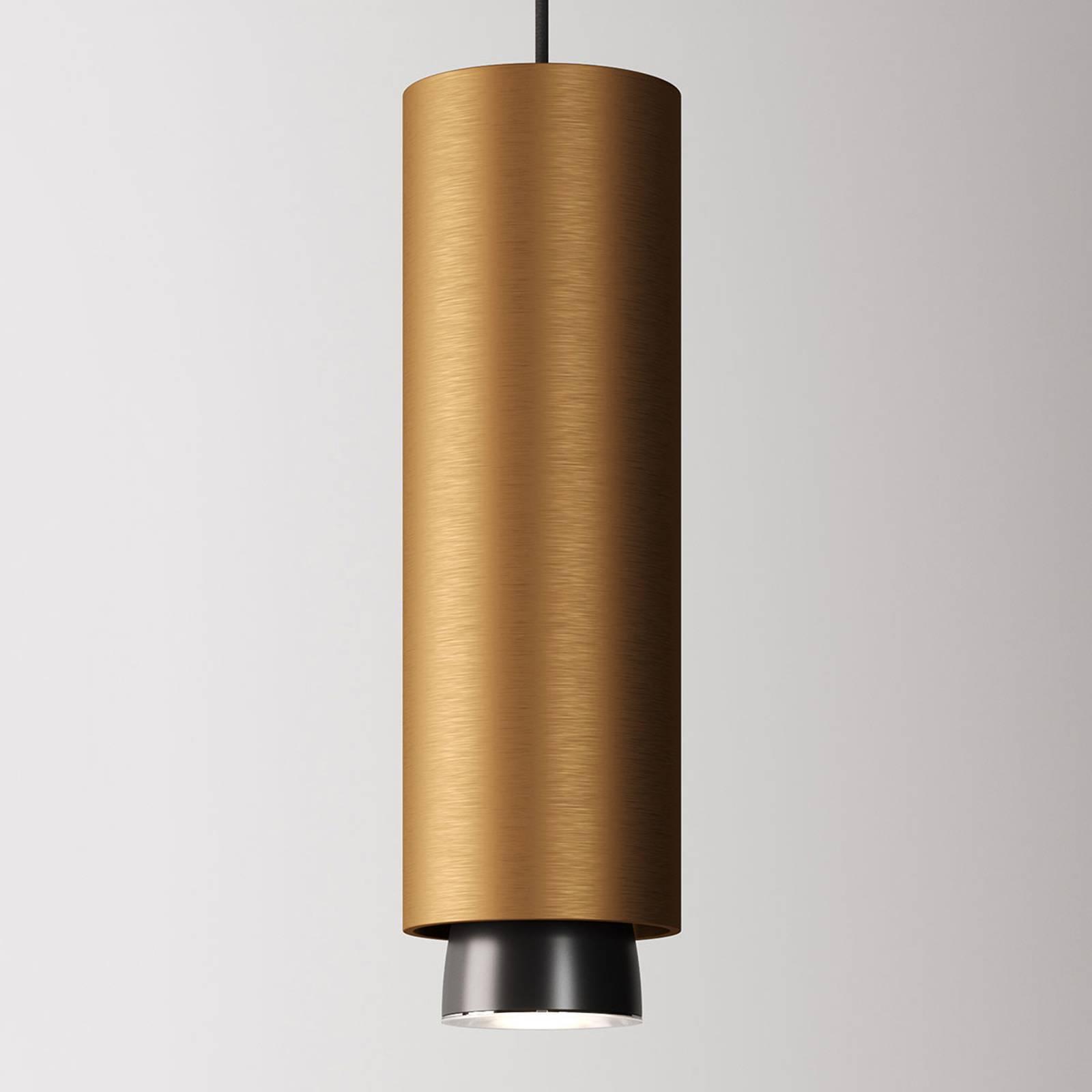 Fabbian Claque LED-Hängeleuchte 30 cm bronze